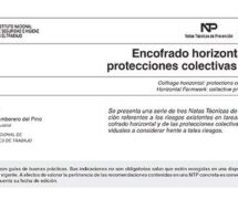 NTP 803: Encofrado horizontal: protecciones colectivas (I) -- 7553-- 7554